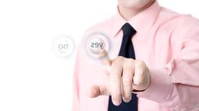 Push the button Royalty Free Stock Photos