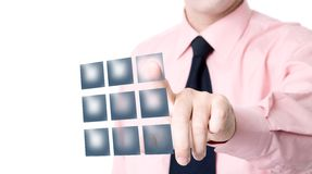 Push the button Royalty Free Stock Images