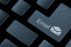 Push button for email Royalty Free Stock Photography