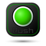 Push button Royalty Free Stock Images