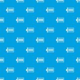 Push button lock pattern vector seamless blue. Repeat for any use Royalty Free Stock Photo