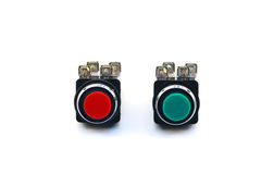Push button switch Stock Photography