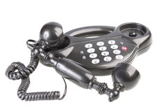 Push-button telephone Royalty Free Stock Photo