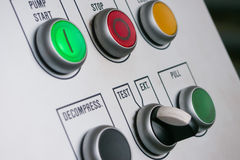 Push buttons Royalty Free Stock Photos