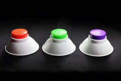 Push Buttons Royalty Free Stock Photography
