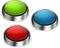 Push buttons Royalty Free Stock Photo