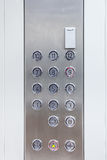 Push buttons of an elevator Royalty Free Stock Image