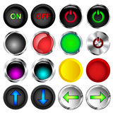Push Buttons Stock Photography