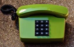 Push dial phone