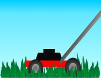Push Lawn Mower Royalty Free Stock Photos