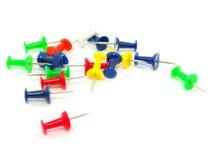 Push pin Royalty Free Stock Photo