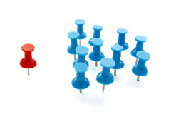 Push pin 15 Royalty Free Stock Image