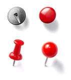 Push pin Stock Photos