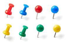 Push pin Royalty Free Stock Photography