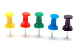 Push pin Royalty Free Stock Photos