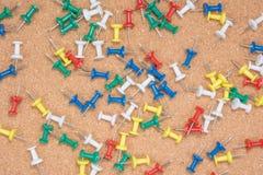 Push pin Royalty Free Stock Photography