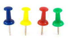 Free Push Pin On Isolated Stock Photos - 11586193