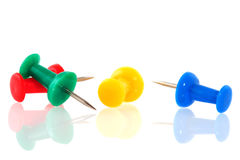Free Push Pins Royalty Free Stock Photography - 12922737