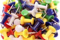 Push-pins Stock Photography