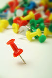 Push pins Stock Image