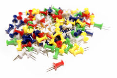 Push-pins Royalty Free Stock Photography