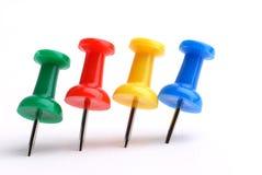 Push-pins Royalty Free Stock Photo