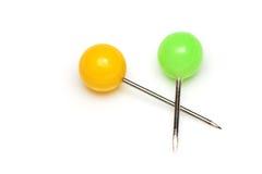 Push Pins Stock Photo