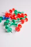 Push pins Royalty Free Stock Photography