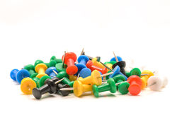 Push pins Royalty Free Stock Photography