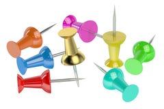 Push Pins Royalty Free Stock Photo