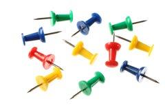 Push pins Royalty Free Stock Image