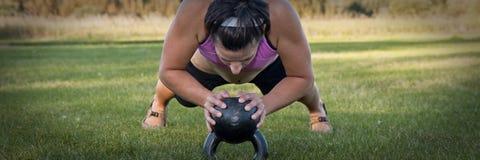 push-up колокола чайника Стоковые Изображения