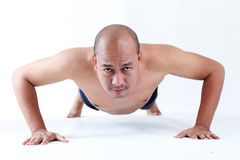 Push Up Royalty Free Stock Images