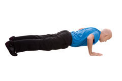 Push-up Stock Image
