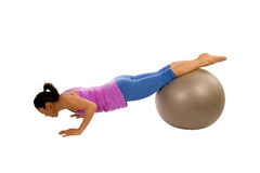 Push up ball Stock Images