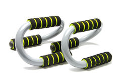 Push up bar. On the white background Royalty Free Stock Images