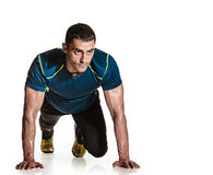 Push up exercise Royalty Free Stock Images