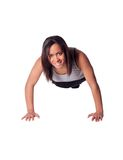 Push ups Stock Photo