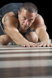 Push-ups Royalty Free Stock Image