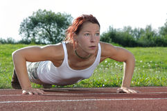 Push-ups Stockbild