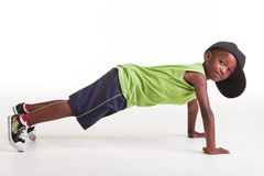 Push ups. Stock Photography