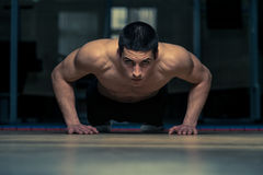 Push-Ups Stock Image