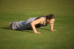 Push Ups Royalty Free Stock Photos