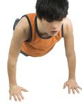 Push ups Stock Photography