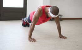Push ups Royalty Free Stock Photography