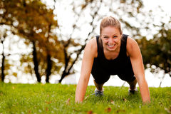 Push-Ups Exercise Stock Photography