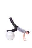 Push-ups exercise Royalty Free Stock Images