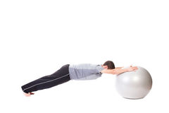Push-ups Stock Images
