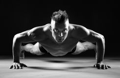 Push-ups Stock Photography