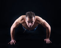 Push ups Stock Images